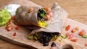 Black Bean Burrito, Indian Style