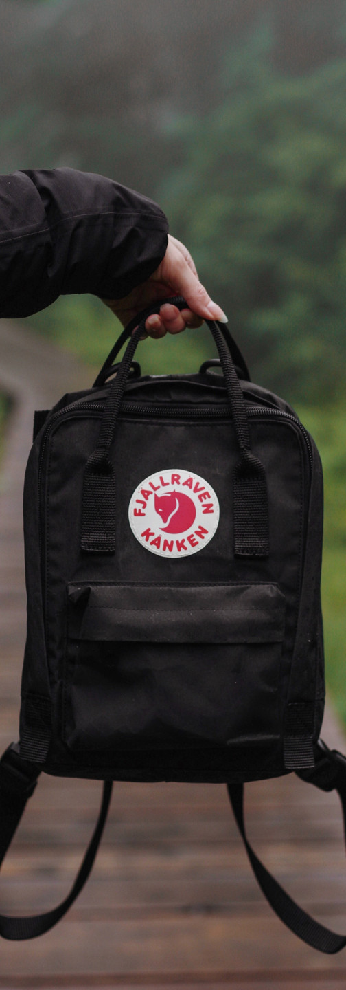 Backpack suitable for a bear viewing excursion in Katmai National Park and Preserve