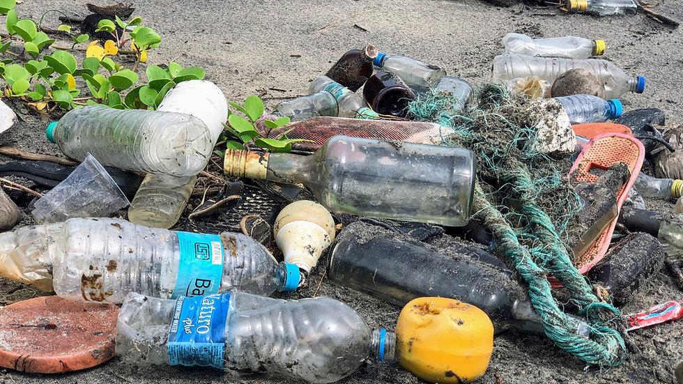 Plástico en las calles