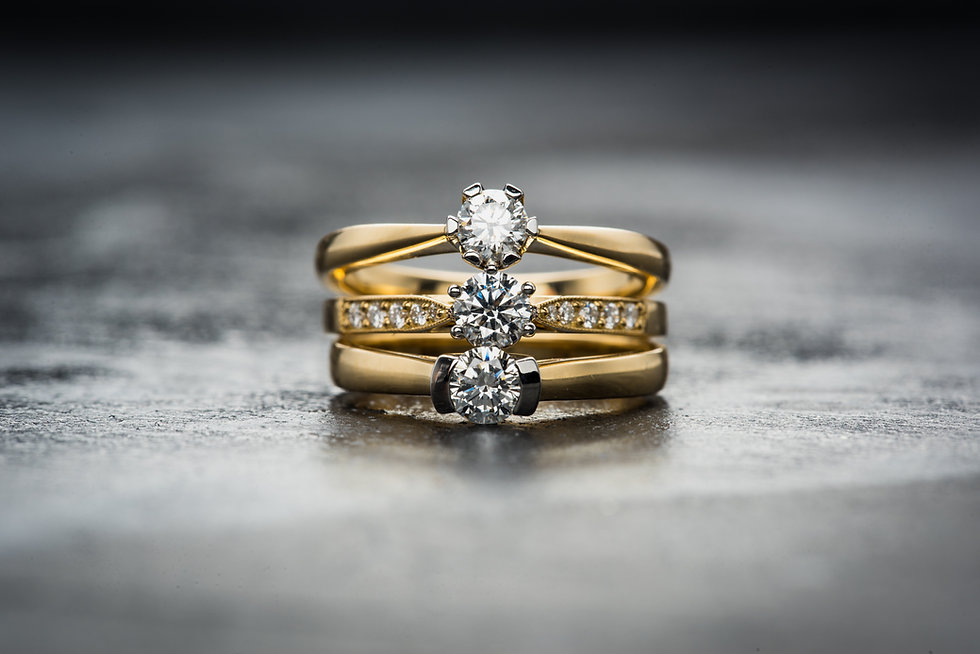 Engagement Rings in cork - Design works Studio - Cork Jewellery. Image by Jacek Dylag