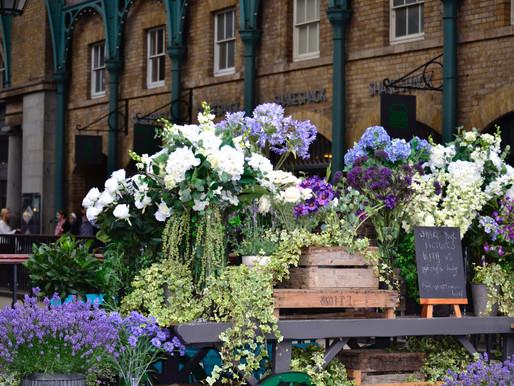 New Covent Garden Flower Market reopens on 15 June, marking the start of British Flower Week