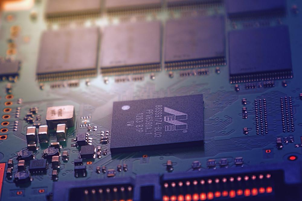 Machine circuits.