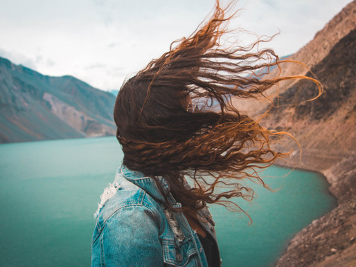 Feel the wind to lower stress and anxiety