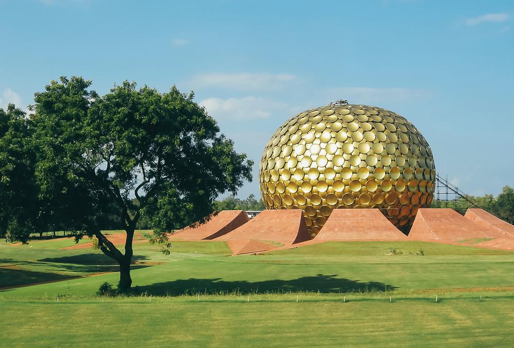 Auroville ecovillage en Inde