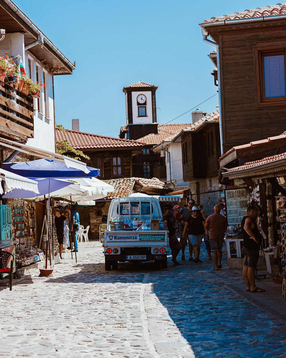 העיירה נסבר בבולגריה