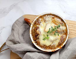 French onion soup M