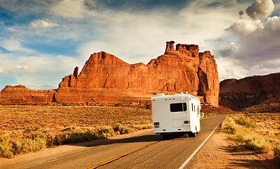 Camping-car aux Etats-Unis