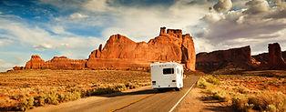Camping-car dans l'Ouest des USA