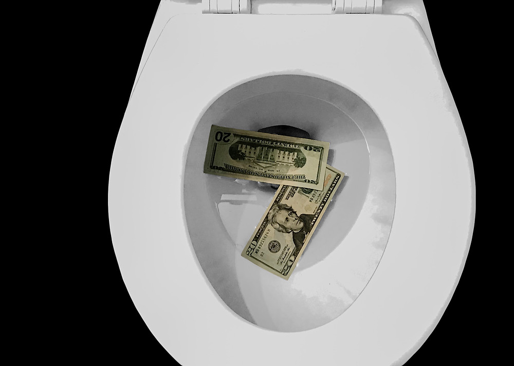 Are your savings about to be flushed away?