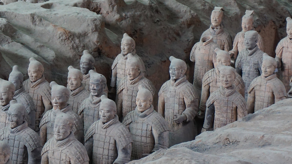 Mausoleum of the First Qin Emperor China - Ariodante Luxury travel Sabbatical