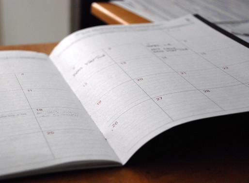 2020-2021 Preschool Calendar