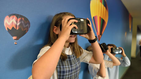 Virtual and Augmented Reality in the Middle School Classrooms (Fall 2019​)