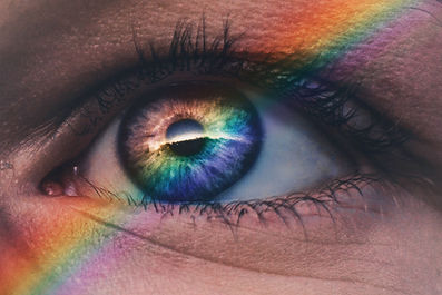 Rainbow Prism Pregnancy Eye