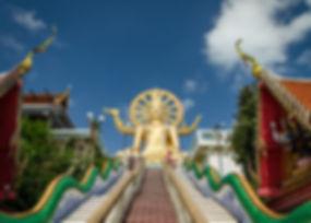 Big Buddha, Baan Saitara Villas luxury accommodation Koh Samui Island, ocean view hotel
