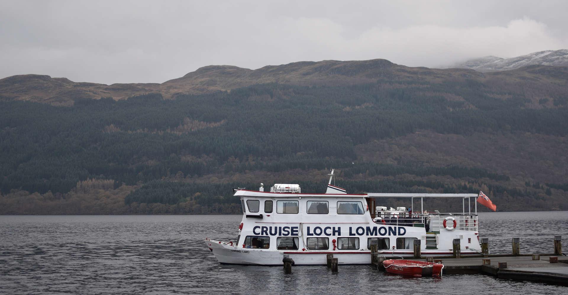private cruise boat on loch lomond