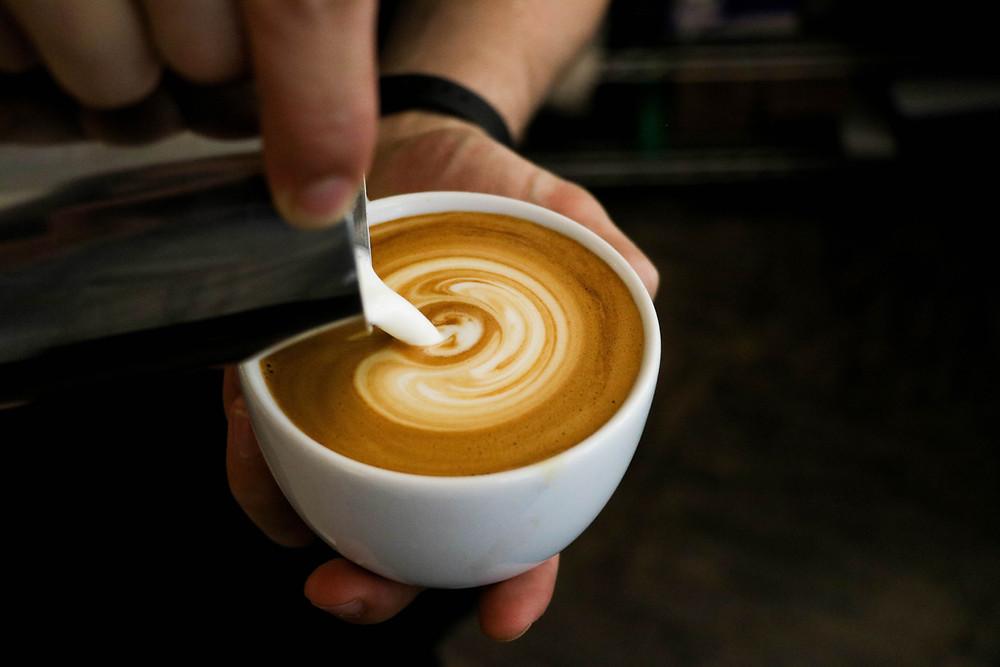 Kafe hafooh- Israeli coffee you can find in Israel