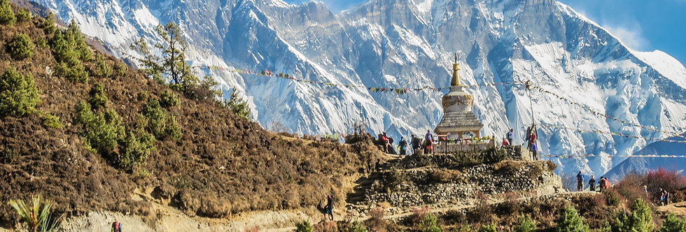 Nepal: Pago de Inscripción