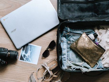 How to pack a layover suitcase