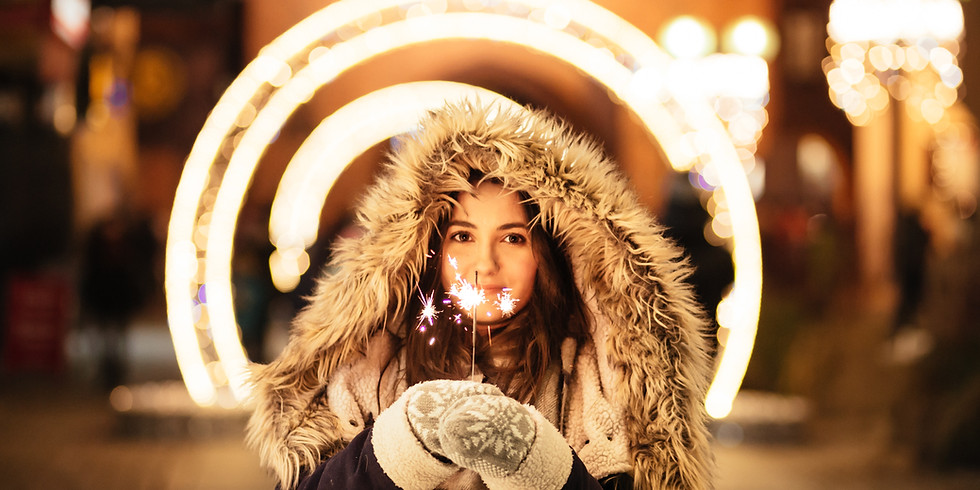 Feel more SPARKLY and less SAD this winter!