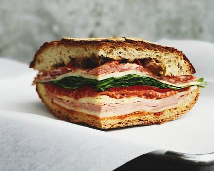 Artisinal sandwiches