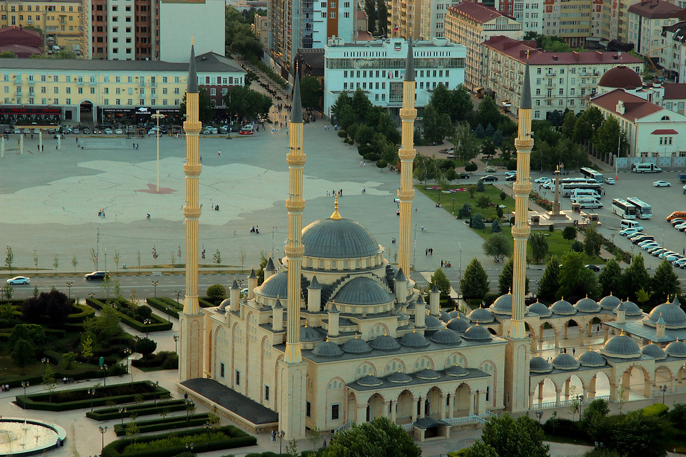 Akhmad Kadyrov Mosque in Chechnya