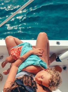 Rodinná plavba s dětmi