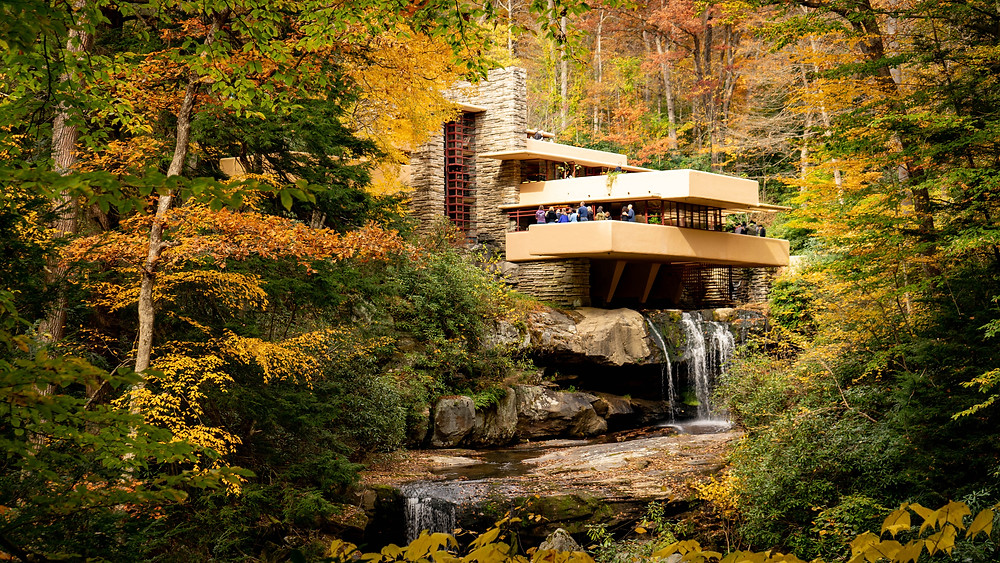 Frank Lloyd Wright's masterpiece Fallingwater, now a UNESCO site