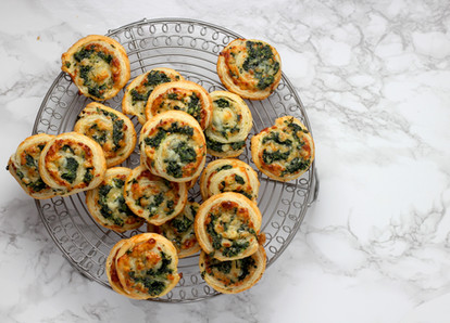 Spinach Pinwheels from Penna's Catering