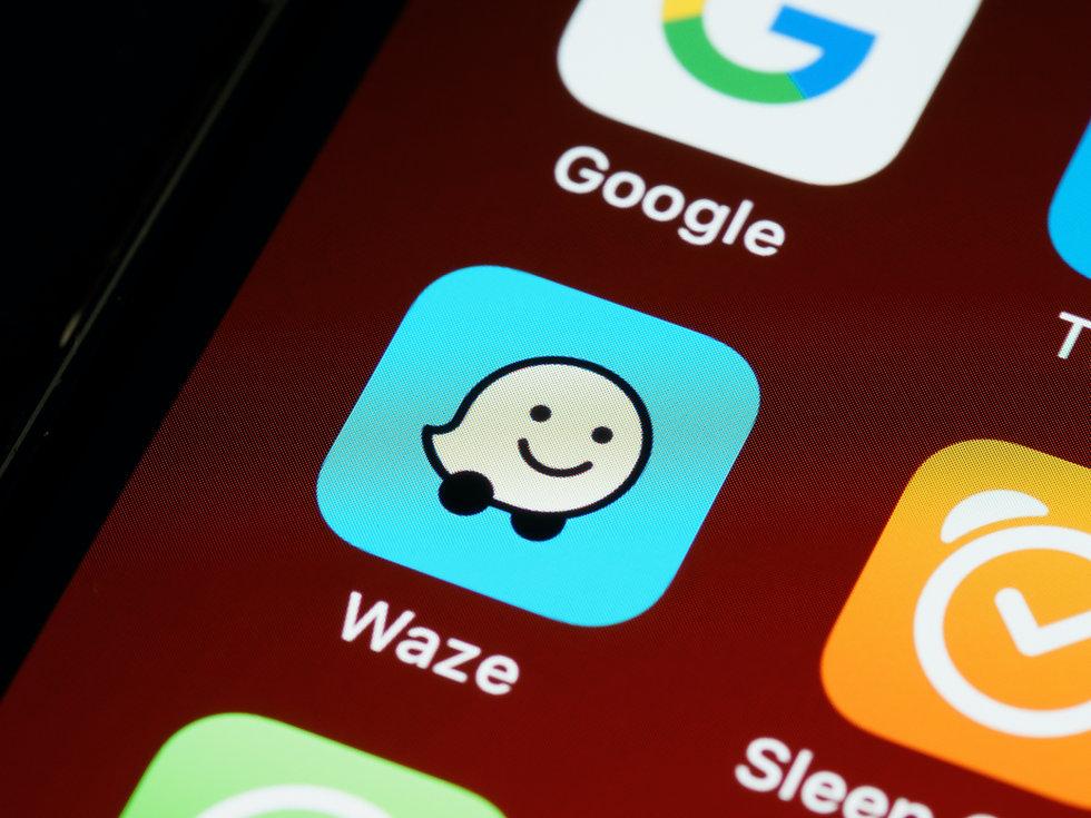Waze App on phone