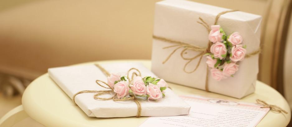 Creating a Wedding Registry