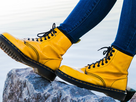 Vintage Boots Were Made for Walking