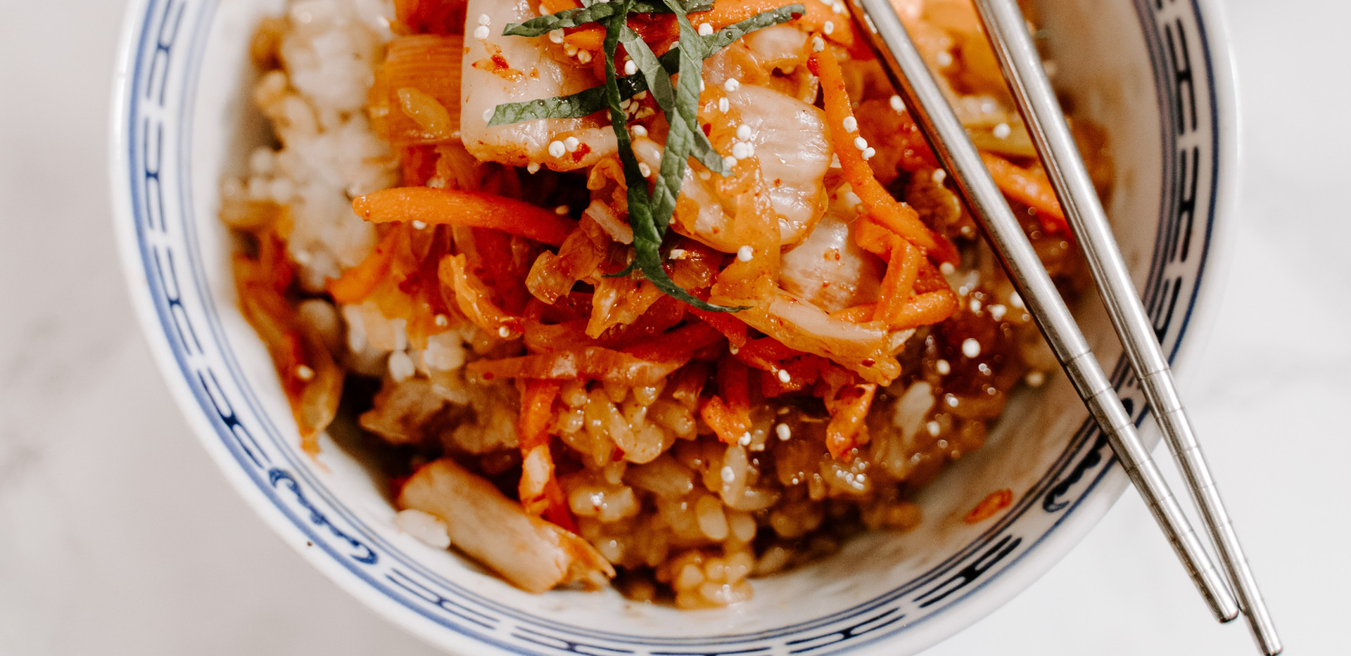 {Lunch} Asian Rice Bowl