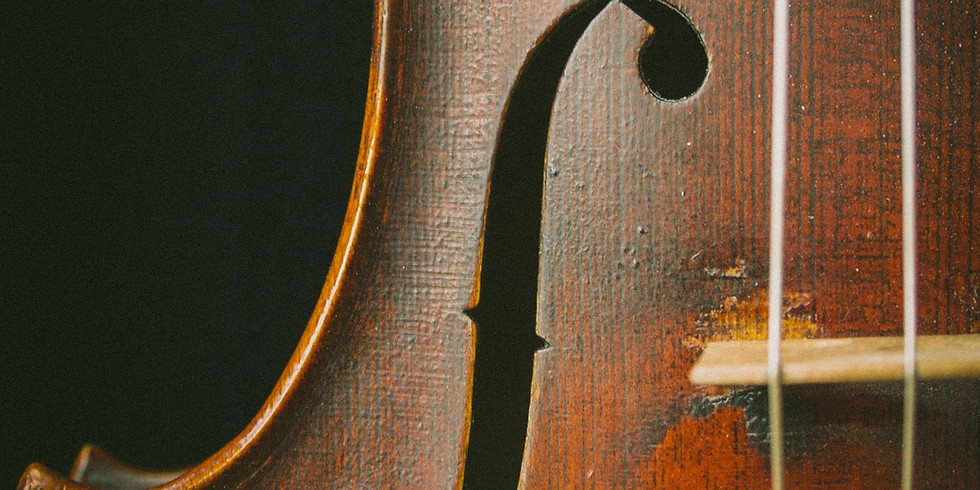 Rehearsal #5 - Strings in Fellowship Hall