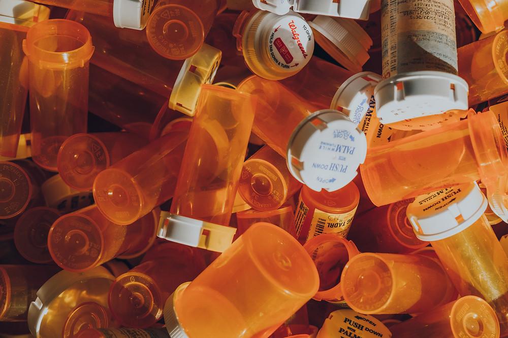 Empty drug dispensers