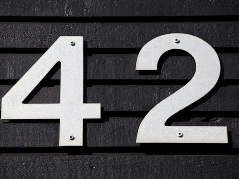 42 — это число значит что-то очень важное!