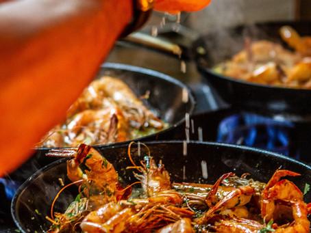 Burrida ( Italian Seafood Soup )