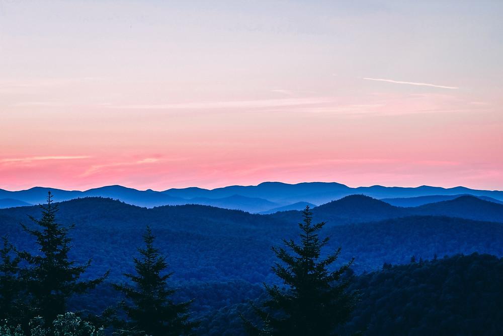 Green Vermont Mountains