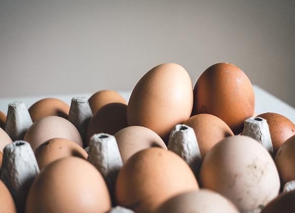 Straws Farm Eggs - Dozen