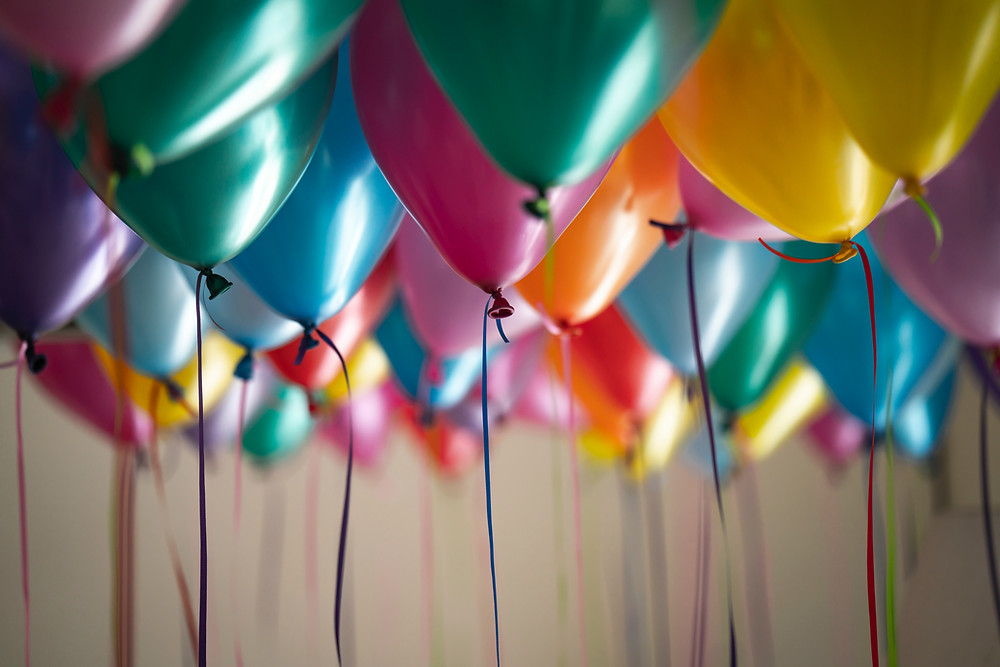 Image Of Coloured Balloons