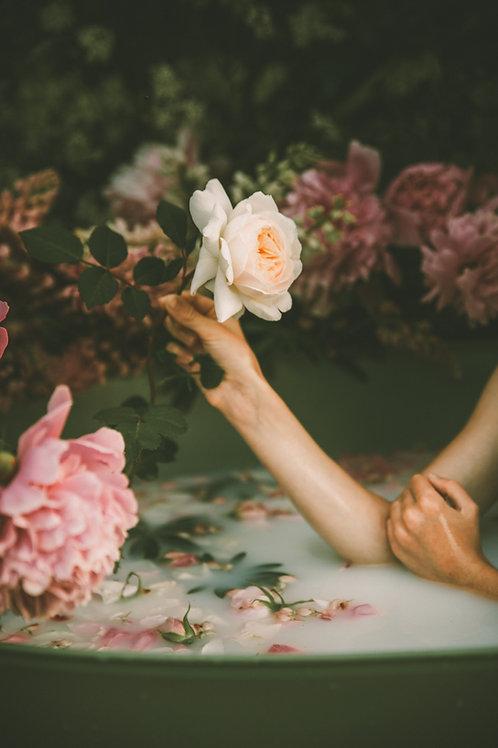 Lokelani Rose Herbal Salt Soak
