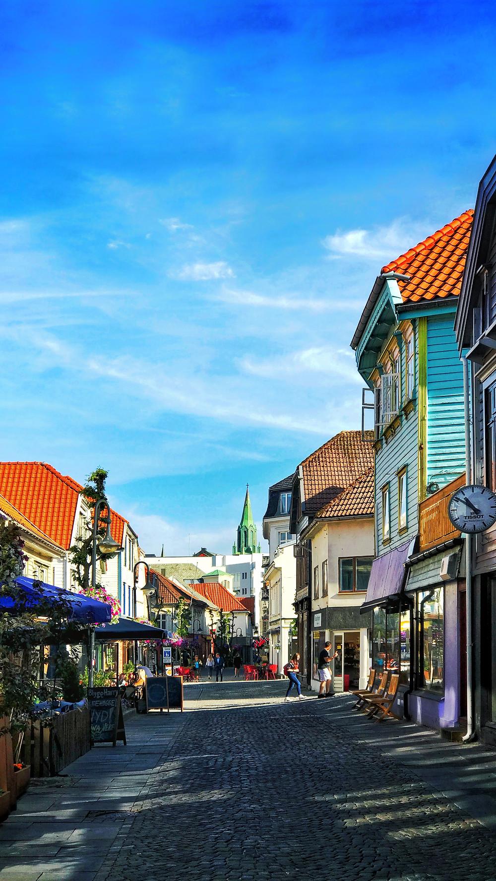 Picture of Stavanger in Norway