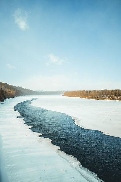 Edmonton River Valley in the Winter. Ashley Salvador City Council When is the Edmonton Election?