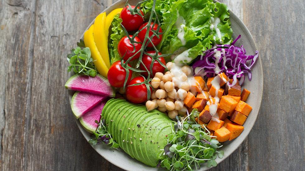 Vegetarian Summer Fresh Plan - 6-Days