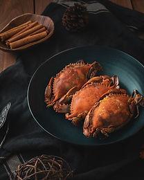 Crab pasta with chilli and coriander M