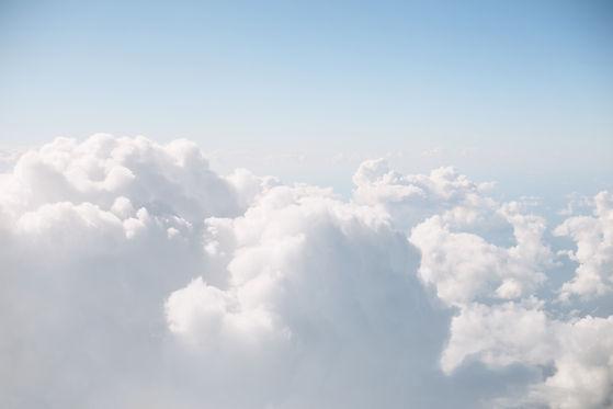 imagen del cielo con nubes