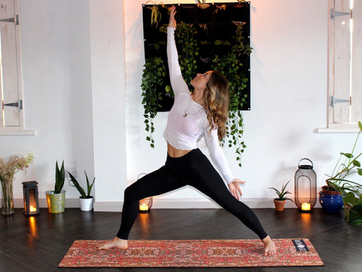How to create an at-home yoga space