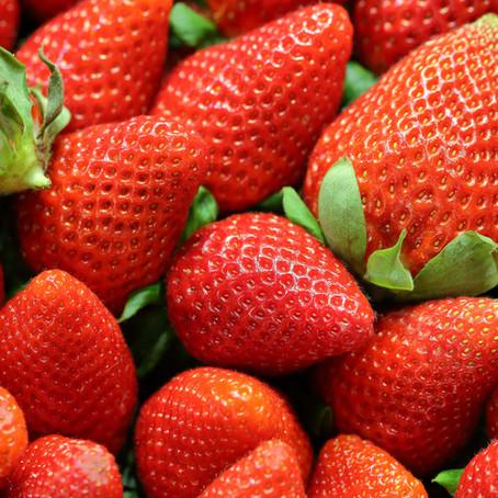 Enjoying National Strawberry Month