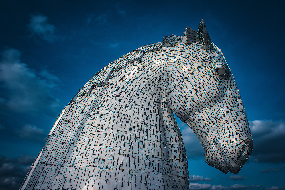 The magnificent tribute to Scotland's horse-powered industrial heritage. by Hairy haggis tours Scotland