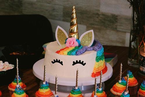 Unicorn Birthday Cake (Min 1 Kg - Rs 2000/Kg)