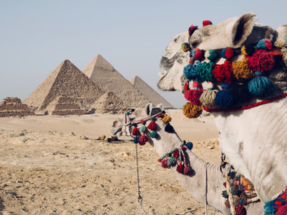 Bastelvorlage Pyramide